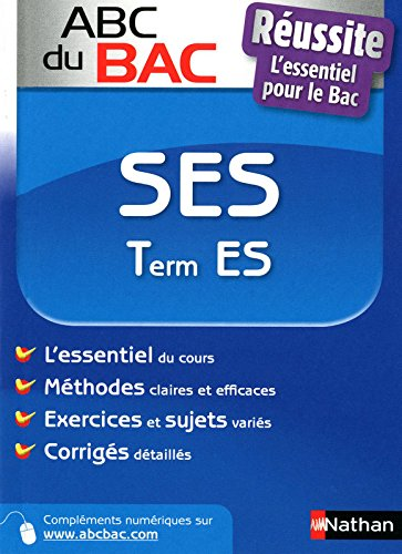 ABC BAC REUSSITE SES TERM ES