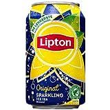 Lipton Ice Tea Sparkling Blikjes 33cl Tray 24 Stuks