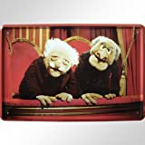 Waldorf and statler «le muppet show'evil grandpas plaque