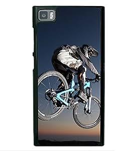 Cycling 2D Hard Polycarbonate Designer Back Case Cover for Xiaomi Redmi Mi3