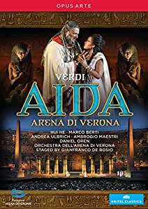 Aida 3D (Verona) [Hui Je, Marco Berti, Andrea Ulbrich, Gianfranco De Bosio] [Opus Arte: OA1107D] [DVD] [2013] [NTSC]