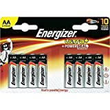Batteries AA (LR6) - Energizer Ultra+ - 8 batteries