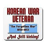 CafePress-Guerre de Corée Veteran-en caoutchouc antidérapant Tapis de souris, Gaming Mouse Pad