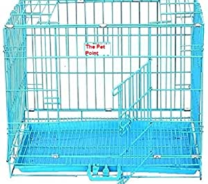 The Pet Point Steel Wire Cage Blue (Blue)