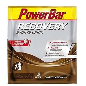 Powerbar Boisson de Récupération Recovery Single Serve Goût Chocolat 20 Unités