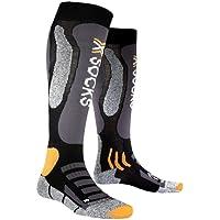 X-Socks Ski Touring Silver,  Uomo, Nero/Antracite, 42/44