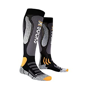 X-Socks Funktionssocken Ski Touring Silver