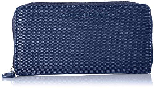 Mandarina Duck Md20 Portafoglio, Donna, Blu (Dress Blue), 3.5x10x19.5 centimeters (B x H x T)
