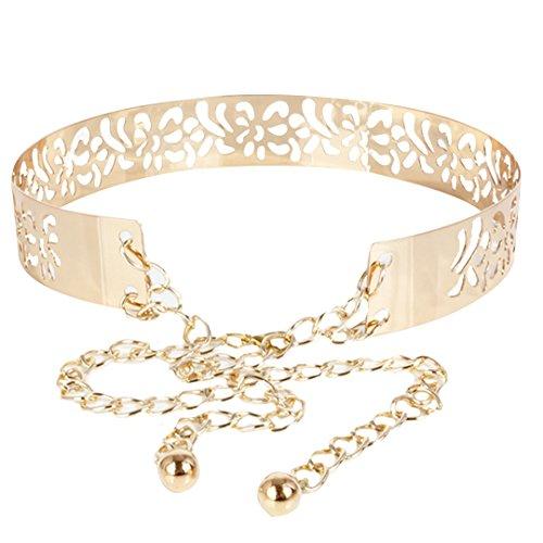 Meliya - Cinturón - para mujer dorado dorado Talla única