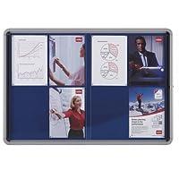 Nobo Internal Glazed Case Fabric 12xA4 - insert notice boards -  Confronta prezzi e modelli