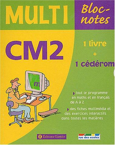 Multi Bloc-notes CM2 (1 CD-Rom inclus) par (Broché)