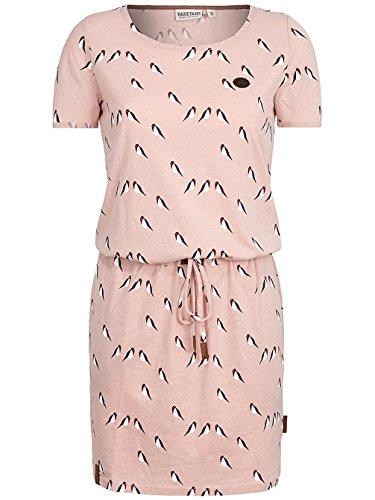 Naketano Female Dress El Majmuni Doofmann III dusty pink melange
