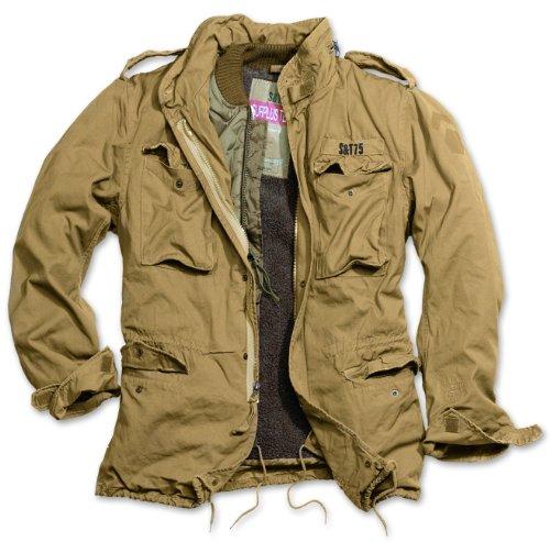 Delta Giant Herren M65 Regiment Jacke, beige, Größe M -