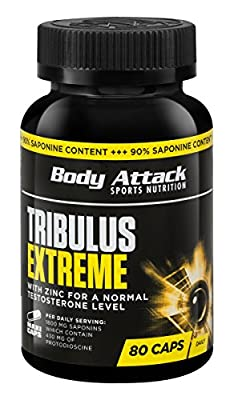 Body Attack Tribulus Extreme - Pack of 80 Capsules from Body Attack