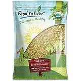 Food to Live Grains De Sarrasin Organiques (Cru, Écossé, Non-Gmo, En Vrac) (20 Livres)
