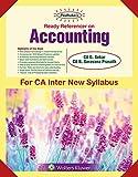 Padhuka's Ready Referencer On Accounting (IPC - New Syllabus): For CA Inter/IPCC New Syllabus -for May 2019 Exams