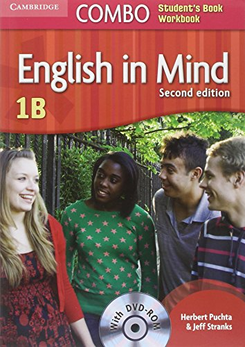 English in Mind 2nd  1 Combo B with DVD-ROM - 9780521183277