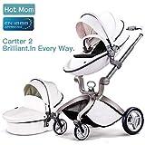 Hot Mom passeggino per bambini Bianco,2019