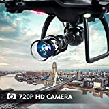 LBLA Drone with 720P camera Wi-Fi FPV Training Quadcopter With HD Camera SX16 Equipped With Headless Mode One Key Return Easy Operation