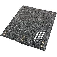 Fußmatte für Trittstufen Wohnwagen Wohnmobil Fußmatte, 45x40 cm, grau