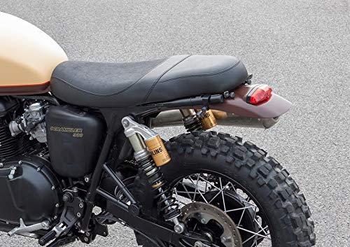 Street Cup//Scrambler Scrambler Speed Triple//R// S Thruxton noir mat B/équille datelier moto roue avant ConStands Front Triumph Bonneville Bobber// T100// T120// SE Daytona 675// R