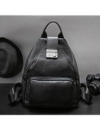Preisvergleich für Axiba Damen Doppel Schulter Baotou Schultertasche aus Leder Rucksack Dame Doppel Umhängetasche Leder Doppel Multi-Schulter-Paket...