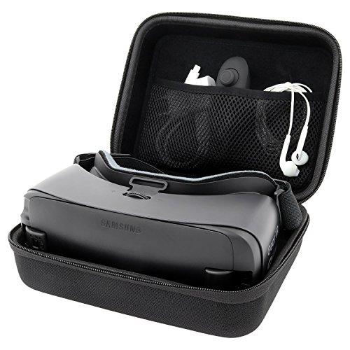 Case Tasche Hülle Box Etui von reVRsed I Für Samsung Gear VR 2017 (SM-R324), 2016 (SM-R323) und Modell 2015 (weiß) | S8 S7 S6 Edge Note 7 Virtual Reality 3D - Case äußere Note Für Edge Box