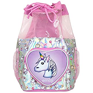 Cantidad limitada comprar genuino ahorre hasta 60% Emoji Bolsa de Natación para Niñas Unicornio