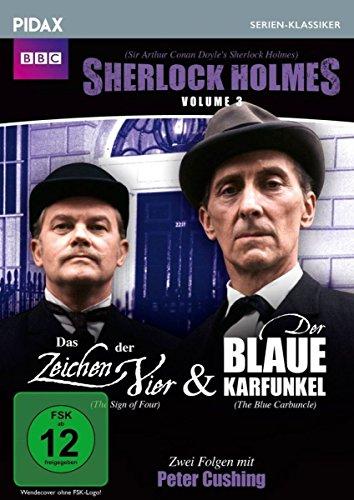 Sherlock Holmes, Vol. 3: Das Zeichen der Vier + Der blaue Karfunkel