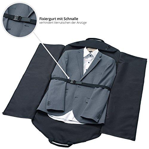 ... porta abiti e camicie senza grinze in viaggio. Inclusa tracolla fc41965368f