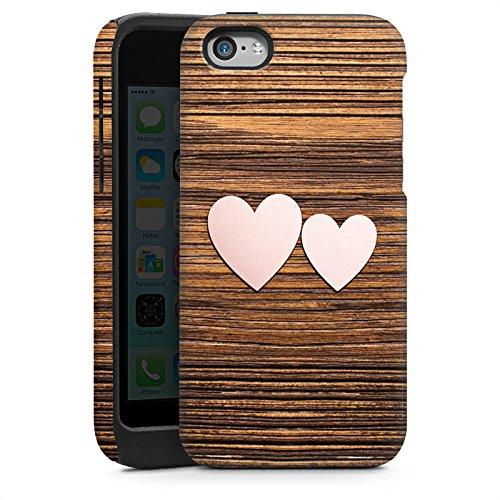 Apple iPhone 4 Housse Étui Silicone Coque Protection C½ur Amour Amour Cas Tough brillant