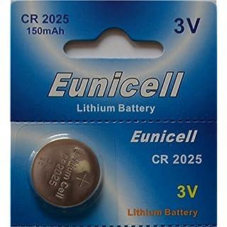 aksans (TM) 20Eunicell CR20253V Lithium-Knopfzelle 2025DL2025Markenprodukt