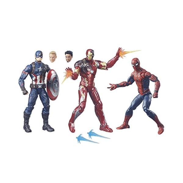 Marvel Avengers - Multipack Legends, 3 Figuras, 15 cm (Hasbro B8215EU4) 2