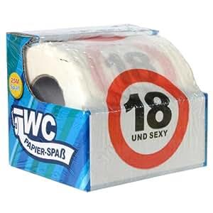 Toilettenpapier 18 UND SEXY