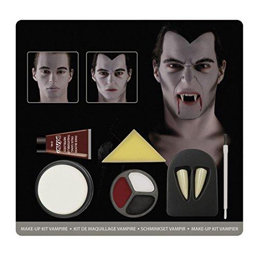 m Schminkset Vampir, Mehrfarbig (Halloween Verbrannten Gesichts-make-up)
