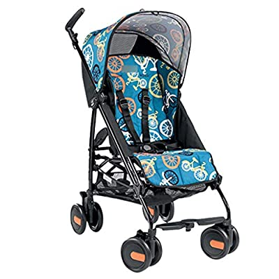 Baby Stroller Small Stroller Can Sit Reclining Folding Light Portable Mini Ultra Light Stroller (Color : MULTI, Size : COLORED)