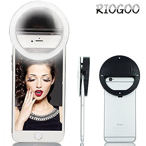 Selfie Light Ring, RIOGOO 36 LED Anneau Selfie éclairage de