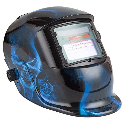 Automatik Schweißhelm + Solarzellen inkl.2 Vorsatzscheiben Schweißschirm SN862
