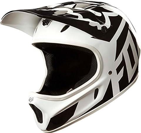Fox Rampage Race Helmet - White/Black,