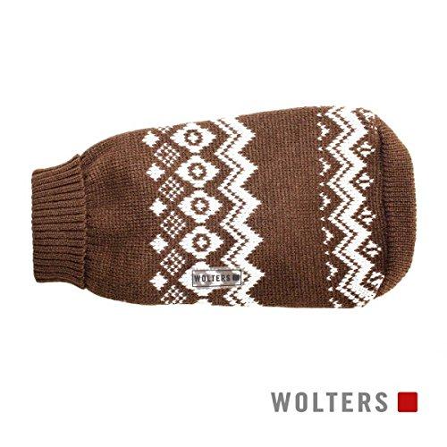 Wolters Norweger Pullover 40cm braun/weiss