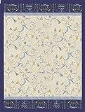 Bassetti Granfoulard 9262998 Tagesdecke, Oplontis V9n - 155x200 cm in