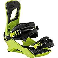 Nitro Snowboards Rambler Fijaciones, Hombre, Verde (Faded Psycho), M