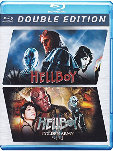 Hellboy + Hellboy - The golden army [Blu-ray] [Import anglais]