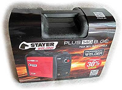 Stayer PLUS 140 BGEK  - Inverter Mma Soldadura Por Electrodo 30%