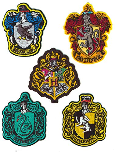⭐️ 5 Parches Termoadhesivos Harry Potter - Iron-on
