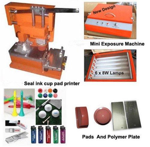 Gowe Ink Cup manuale Tampografia macchina con accessori usato  Spedito ovunque in Italia