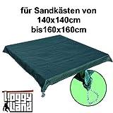 Loggyland Sandkastenabdeckung mit Kette für 1.4 bis 1.6 m Seitenlänge