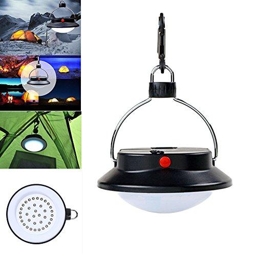Demiawaking Tragbare Wiederaufladbare 36 LED Wandern Camping Zelt Laterne Licht USB Lampe