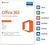 Microsoft Office 365 Home | 5 Devices | 1 Year | PC/Mac |...