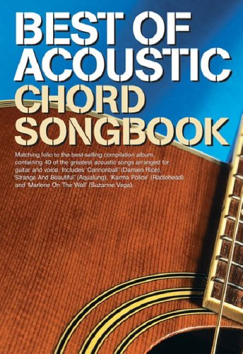 Best of Acoustic: Guitar Chord Songbook
